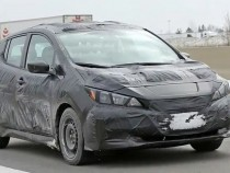 2018 Nissan Leaf Spied, New Model Suggests A Car-Like Design