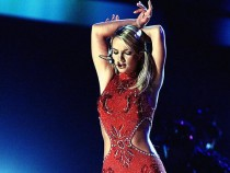 Singer Britney Spears performs during the 42nd Annual Grammy Awards