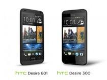 HTC Desire 601 and HTC Desire 300