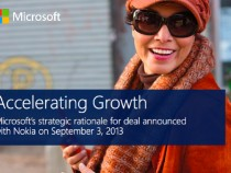 Microsoft's Presentation On Its Reasons Of Acquring Nokia