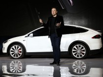 Tesla Debuts Its New Crossover SUV Model, Tesla X