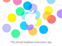 Apple September 10, 2013 iPhone Event Invite