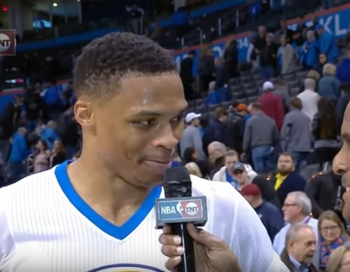 Russell Westbrook Comments On Charles Barkley After The Game.