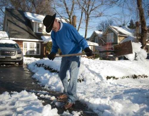 Winter Storm Affects North Carolina