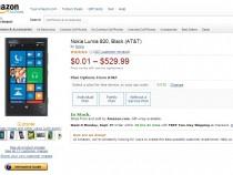 AT&T Nokia Lumia 920 On Amazon
