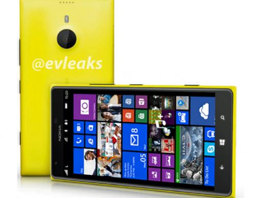 Leaked Image Of The Nokia Lumia 1520