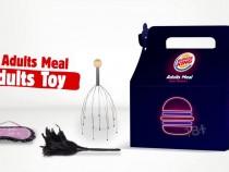 Burger king- valentines adult meal