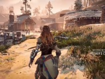 Check Out Some Settlements And Gameplay From Horizon Zero Dawn