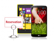 Nokia Lumia 1020, LG G2 on Rogers Reservation System
