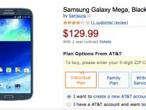 AT&T Samsung Galaxy Mega Deal
