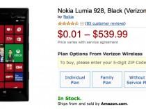 Verizon Nokia Lumia 928 Amazon Deal