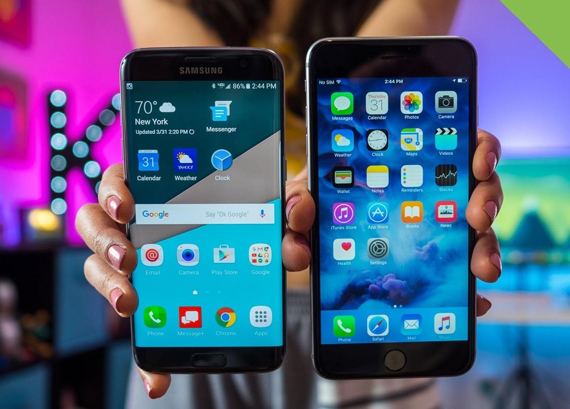 Samsung Galaxy S7 Edge vs iPhone 6s Plus