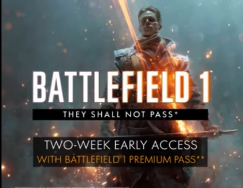 Battlefield 1 News & Update: They Shall Not Pass DLC Map H