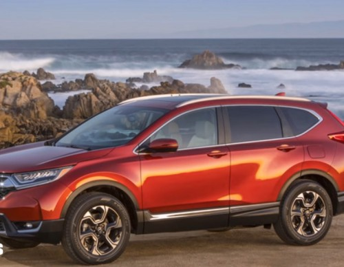 Honda Starts Production Of 2017 CR-V In Indiana