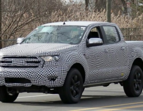 2019 Ford Ranger Spied: Here's What We Found Out