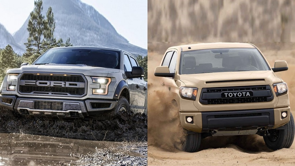 Pickup Wars: 2017 Ford F-150 vs 2017 Toyota Tundra