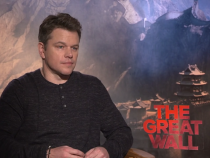 Matt Damon: 'The Great Wall' Is 'Bigger Than Anything I've Ever Been Part Of'