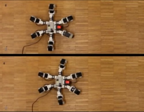 Six-Legged Robot Runs Faster Than Natural Ones