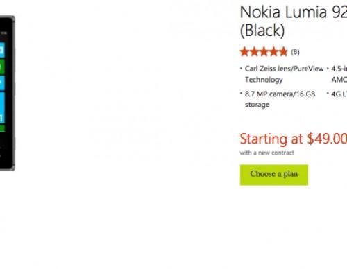 AT&T Nokia Lumia 925 Deal