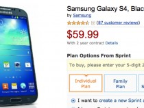 Sprint Samsung Galaxy S4 Amazon Deal