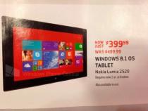 Verizon Nokia Lumia 2520 Price Cut