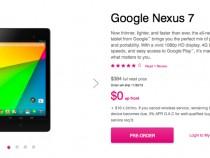 T-Mobile Nexus 7 Pre-order Page