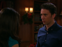 Abigail Enters As Gabi and Chad Kiss - Days Of Our Lives (16th December 2016)
