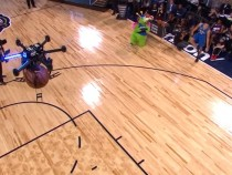 Intel's Drone Had A Thrilling Role In The NBA All-Star Weekend