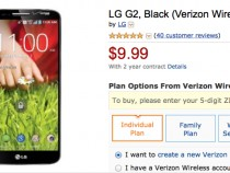 Verizon LG G2 Amazon Deal
