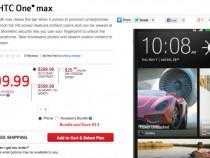 Verizon HTC One max Order Page