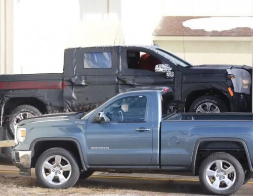 2019 Chevrolet Silverado Spied: Prototype Suggests Lighter Body Like Ford's F-150