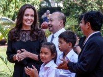 Angelina Jolie Attends 'First They Killed My Father' Premiere In Cambodia