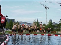 Kings Cross Outdoor Swimming Pond Opens To The Public