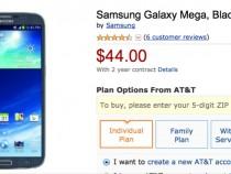 AT&T Samsung Galaxy Mega Amazon Deal