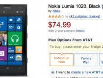AT&T Nokia Lumia 1020 Amazon Deal