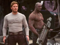 Guardians of the Galaxy 2 Image: Star-Lord & Drax Are Ready for a Fight