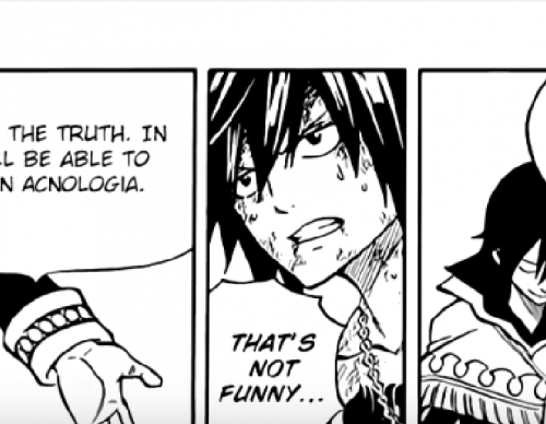 FAIRY TAIL Manga 522 & 523: Gray's Trump Card - Will Fate Burn? (720p) English
