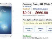 Verizon Samsung Galaxy S4 Deal