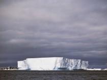 Iceberg, Antarctic Peninsula, Antarctica...