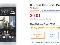 AT&T HTC One mini Amazon Deal