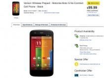Best Buy Verizon Moto G