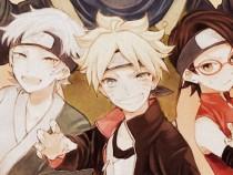 Team Konohamaru Boruto, Sarada and Mitsuki - The New Generation Naruto Boruto Spin-Off 2016 ナルト