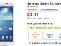 AT&T Samsung Galaxy S4 Deal