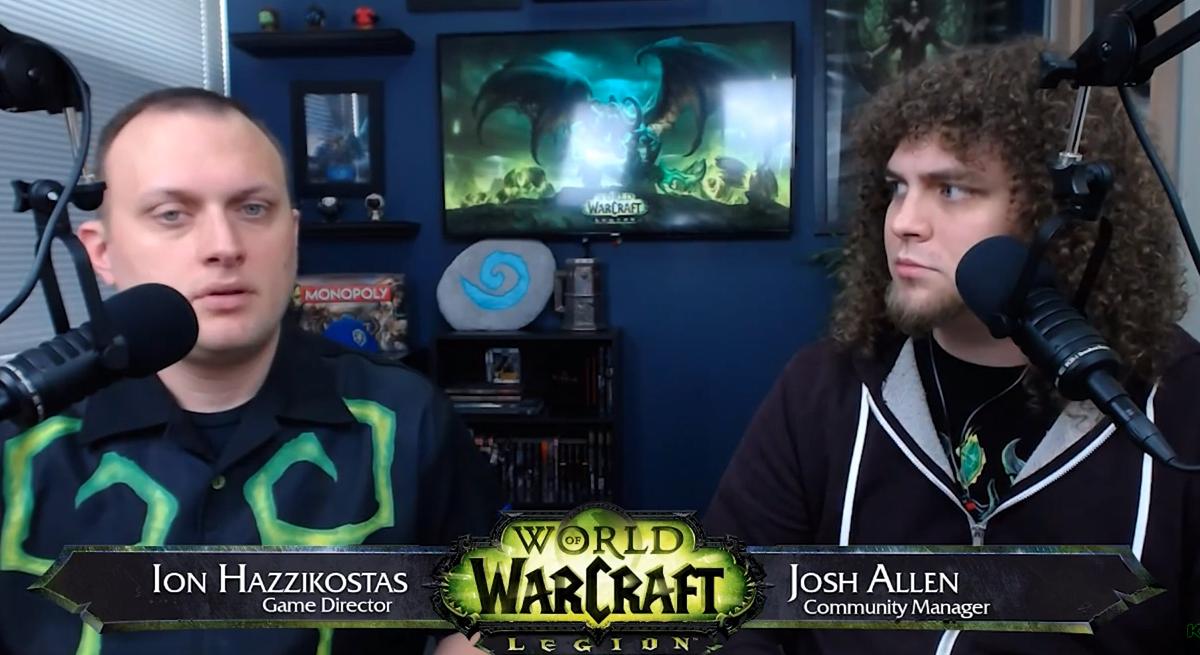 World of Warcraft: Q&A Legion Patch 2.0 AP, Legendaries With Ion Hazzikostas