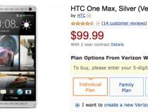 Verizon HTC One max Amazon Deal