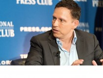 Peter Thiel speaks at The National Press Club