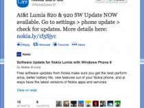 Nokia AT&T & Lumia 820 Lumia Black Update