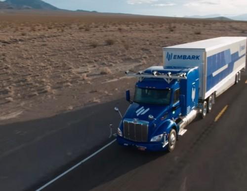 Embark's Autonomous Trucks Hit The Road To Assist Long-Haul Drivers