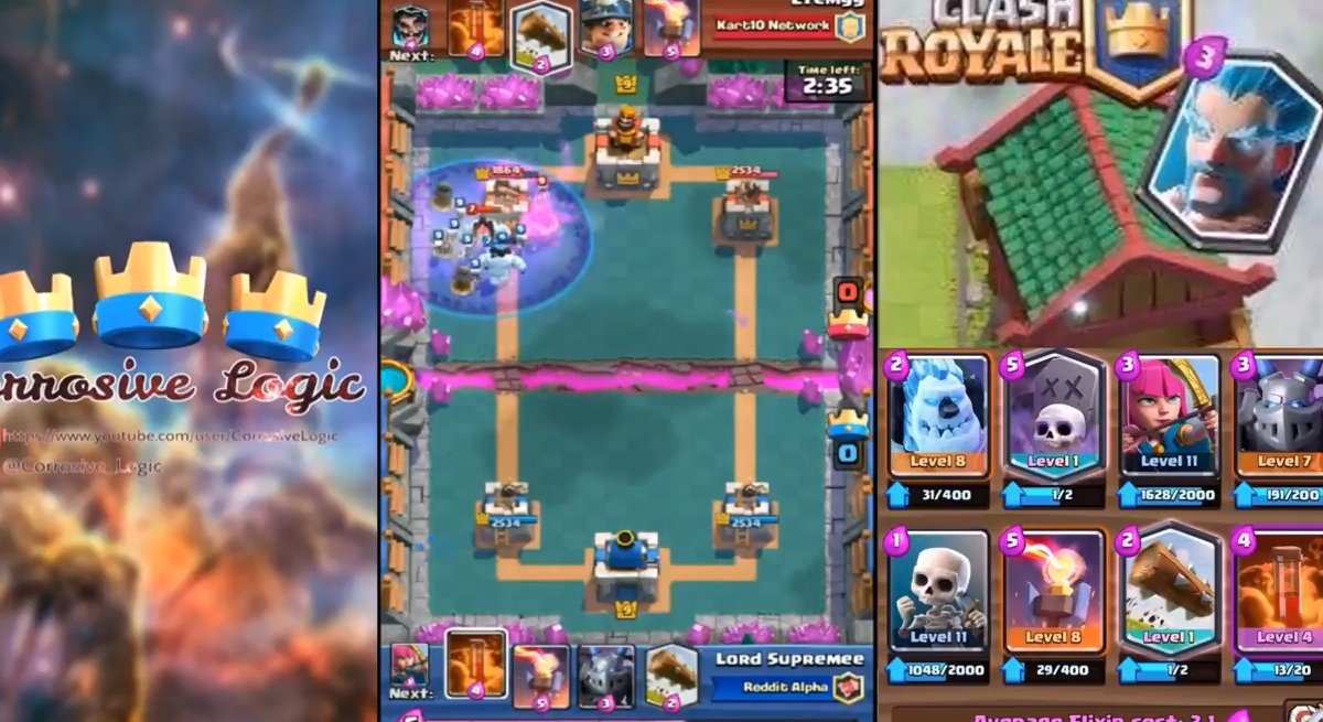 Clash Royale Best Graveyard Poison Deck! 1st PLACE in a 1000 Man Tournament! (Ft. Lord Supremee)