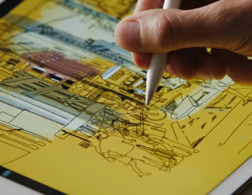 iPad Linea App Gets A New Updated Apple Pencil, Presentation Mode